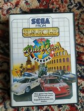 SEGA Master System Out Run Europa OVP TOP ZUSTAND Vintage Videospiel