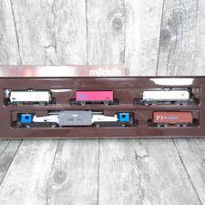 Märklin Mini Club  8688 - Spur Z - DB - 5 tlg. Güterwagen-Set - OVP - #C20115