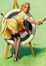 Gil ELVGREN Vintage con PIN UP GIRL A4 lucida arte fotografica POSTER STAMPATI NUOVI #11