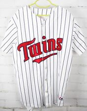 Minnesota Twins Joe Mauer 7 Short Sleeve Baseball Jersey Youth Boy's L Large MLB