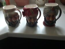 Tilso Japan Hand Painted Mug Cup Set Of 3