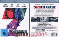 Blu-Ray SEVEN THIEVES Edward G. Robinson Rod Steiger Joan Collins Region B/2 NEW