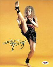 Kathy Long Signed 8x10 Photo PSA/DNA COA UFC 1 WKA Kickboxing Champ Picture Auto