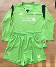 Liverpool FC 2016-17 Football Kid's Goalkeeper Kit Size 6-7 Years 116cm, Green