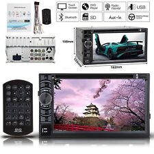 """DOUBLE 6.2"""" 2DIN CAR RADIO CD DVD PLAYER STEREO Touchscreen USB SD FM For Ford"""