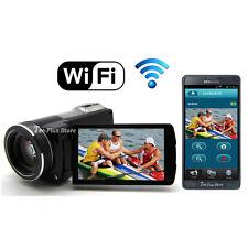 NEW JAPAN ORDRO Z-35W WiFi FULL-HD 1080P 16.0 MEGA 50X ZOOM DIGITAL CAMCORDER a