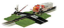 BACHMANN #44579 HO SCALE CROSSING GATE NICKEL SILVER DELUXE NEW