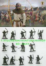 1:72 FIGUREN M117 English Longbowmen - STRELETS