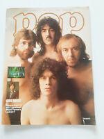 POP Nº 10 1974*SWISS ROCK PROG GLAM MAGAZINE*YES*NAZARETH*SUZI QUATRO*THE SWEET