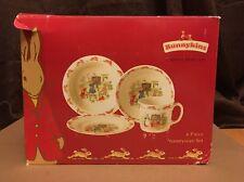 Royal Doulton Bunnykins 4 piece set Fine Bone China Vintage in Original Box
