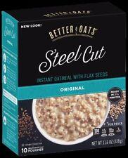 Better Oats Oat Revolution! Instant Oatmeal-Steel Cut Oats Original