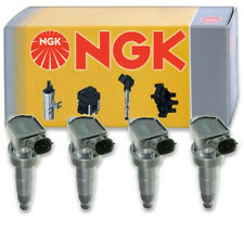 4 pcs NGK Ignition Coil for 2010-2014 Hyundai Genesis Coupe 2.0L L4 - Spark ho