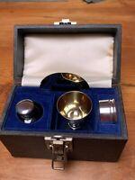 Rare Silver Home Eucharist/ Communion Set