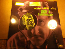 SON of FRANKENSTEIN (1939) LASERDISC BASIL RATHBONE BORIS KARLOFF  LUGOSI SEALED