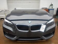 2014 BMW 228i Front End Assembly Clip Nose '33' Actual Miles IIHS VRC Test Car