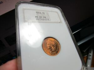 1906 FULL GEM INDIAN HEAD PENNY  NGC  MS-65 RB   MOSTLY RED COLORING  OH  PQ