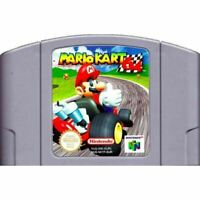 Nintendo N64 Game Mario Kart 64 Video Game Cartridge Console Card US Version USA