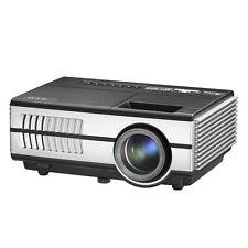 HD Portable Android Mini Wifi LED Video Projector Bluetooth Home Cinema HDMI USB