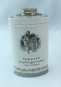 Yardley Inglese Lavanda Talco Polvere Latta Vintage Completo 89ml Leggi