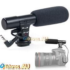 Sidande MIC-01 3.5mm DV Stereo Microphone Mic For Canon Nikon Video DSLR Camera