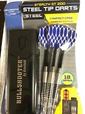 New listing New Steel Tip Darts Arachnid Bullshooter  STEALTH ST200 18 G Free Ship