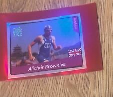 London Olympic 2012 Official Panini Sticker Alistair Brownlee Foil 394