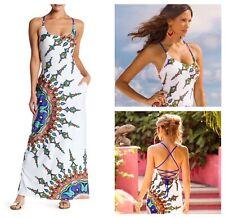 NWT $156 Sz Medium M  Trina Turk Kasbah Maxi Dress Swim Cover