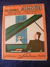 Partitur 17 . Album Francis Salabert 1934 Music -blatt groß Format