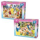 2 x 24 Pièces Disney Puzzle - Neige Blanche & Les Sept Nains 5242 A ET B