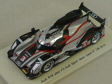 Spark S3702 - AUDI R18 Ultra Team Joest n°3 5ème Le Mans 2012 1/43