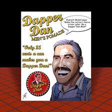 New DAPPER DAN TIN pomade hair jelly POSTER ART, O Brother Where Art Thou? movie