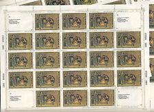 CCCP URSS 10 Feuilles Sheets 21TP 45k  Le Remouleur de PUGA 1985