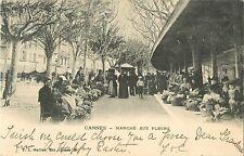 Marche aux Fleurs, Cannes France 1904