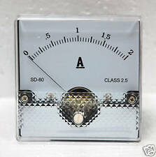 1pc Panel Amp Meter DC 500mA SD-312C 55x47mm Linear type ±5/% SD FlashStar