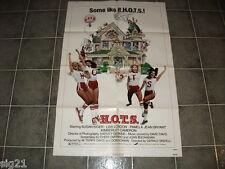 H.O.T.S. 1979 Original One Sheet Movie Poster