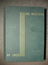 THE MELETEAN OF 1935 Yearbook State Teachers College, River Falls, Wisconsin