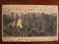 cpa 89 vallee de la cure sermizelles vue sur la riviere