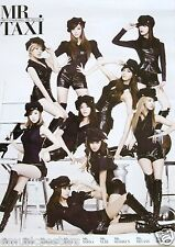 "GIRLS GENERATION ""MR.TAXI"" ASIAN PROMO POSTER-Sexy Korean Girl Band, K-Pop Music"