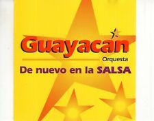 CD GUAYACAN ORQUESTAde nuevo en la Salsa1999 EX- (R3344)
