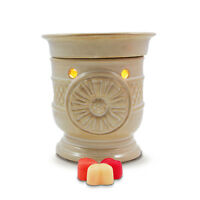 SALE ITEM - Electric wax burner (warmer) SUNFLOWER + light & winter tarts