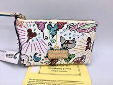 Nwt! Disney Dooney & Bourke Sketch Cosmetic Case Dumbo~Mickey~Minnie~Teacu p