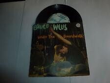 "BRUCE WILLIS - Under The Boardwalk - 1987 UK Motown 7"" Vinyl Single"