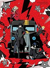 New PERSONA5 The Animation THE DAY BREAKERS Limited Edition Blu-ray Drama CD