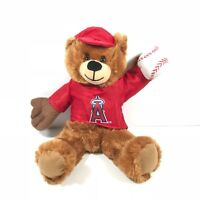 """MLb offical Los Angeles Anaheim Angles 2014 Rally Bear Stuffed Toy soft Doll 13"""""""