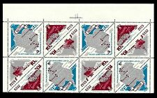 RUSSIA. Antarctica. 1966. Scott 3162-3164. Four strips of 3. A.(BI#BX50)