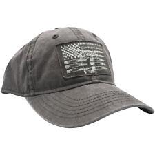 Parche bandera de gruñido estilo munición Sombrero-Negro