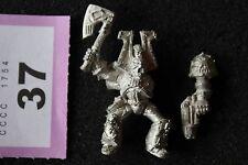 Games Workshop WARHAMMER 40K Caos Khorne CHAMPION in metallo RULLO COMPRESSORE Rider fuori catalogo GW