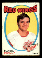1971-72 O-Pee-Chee #133 Marcel Dionne Red Wings Rookie EX (ref Counter)