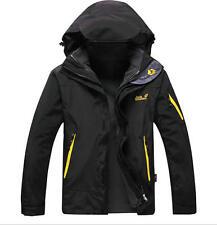 winter Jack Wolfskin outdoor ski-wear water/windproof flocking coat two-piece