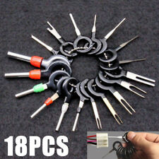 18pcs Car Wire Harness Terminal Extraction Pick Connector Pin Remove Tool Set